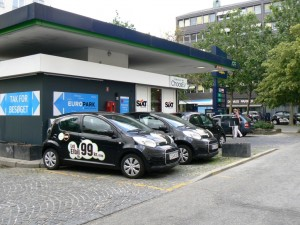3 EVs for rent in Denmark. Deb and visited while on business to Norway.