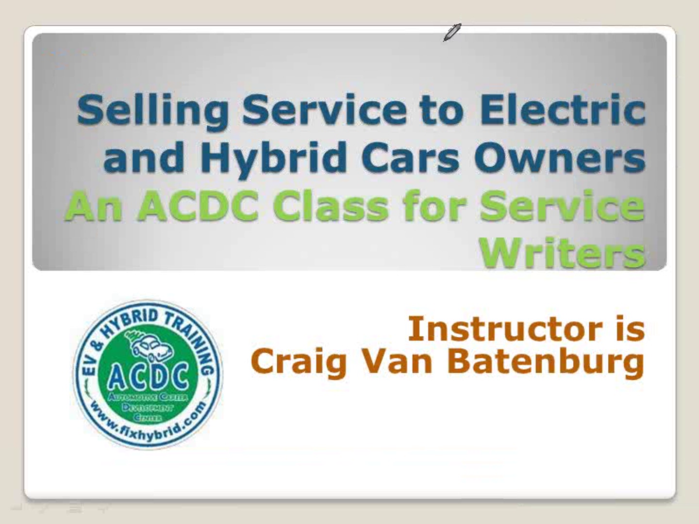 automotive service writing training | page 4 of 6 jeff cowan's pro talk is a nationally recognized automotive service advisor sales trainer and creator of the modern-day, walk-around and selling.
